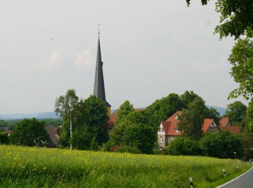 Ortsansicht von Cappel, heute ein Stadtteil von Blomberg. Dort fanden Ende der 1530er Jahre viele Landtage statt (Quelle: wikimedia commons).