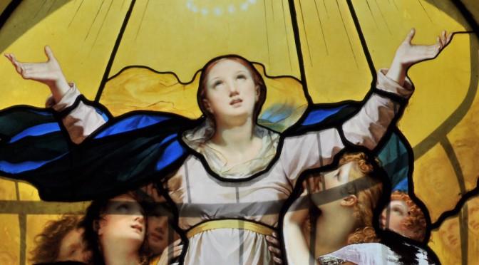 Die Verbrennung der Jungfrau Maria